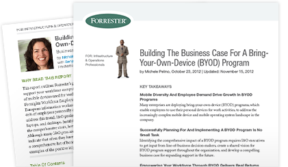 Read the white paper: Building The Business Case For A Bring-